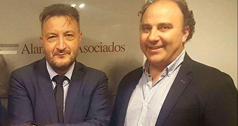 Luis Alamán y Carlos del Barrio reunidos en Zaragoza
